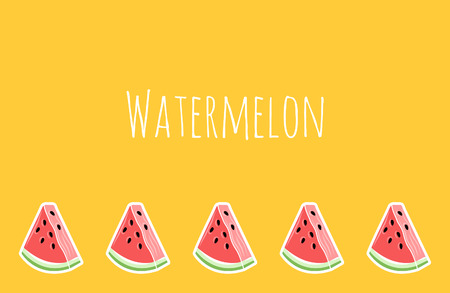 Yellow Watermelon Wallpaper Place For Text Royalty Free Cliparts Vectors And Stock Illustration Image 106931914