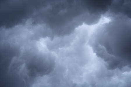 stormy clouds formation