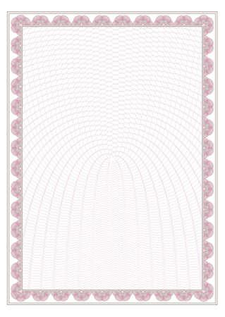 rosaces: dessin de s�curit� (guilloch�) pour la protection de dokuments tels que ceryficate ou dipl�me