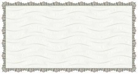 guilloche - frame with background Vector