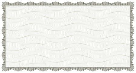 anleihe: Guilloche - Rahmen mit Hintergrund