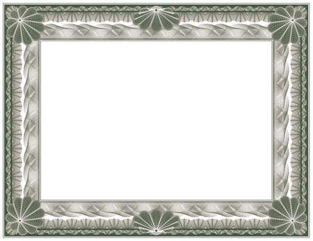 guilloche - frame