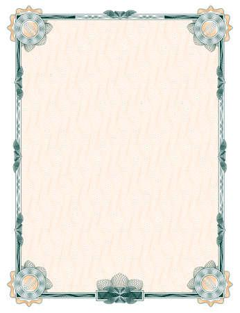 rosaces: guilloch�: d�coration classique, avec des rosettes pour les dipl�mes, certificats et autres documents similaires