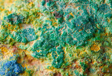 fullframe: Copper ore texture close up. Europe, Poland, Holy Cross Mountains.