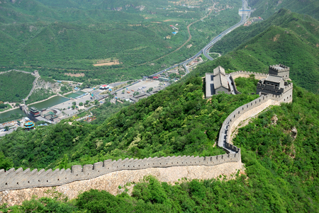 Great Wall in China is one of the oldest monuments photo