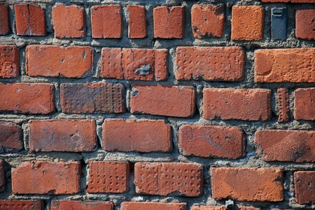 Old brick wall as a nice background or wallpaper