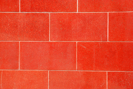 granite wall: Red granite wall as a well background
