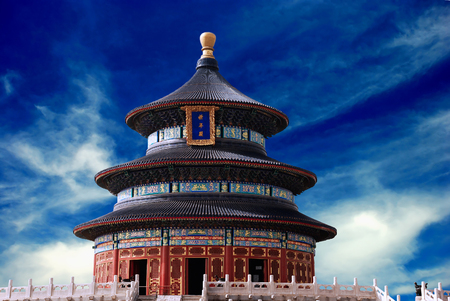 This is Temple of Heaven in China
