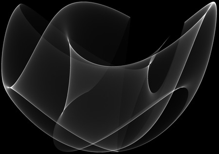 Dark waves as a beautiful abstract background