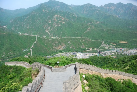 Beautiful Great Wall landscape in Beijing