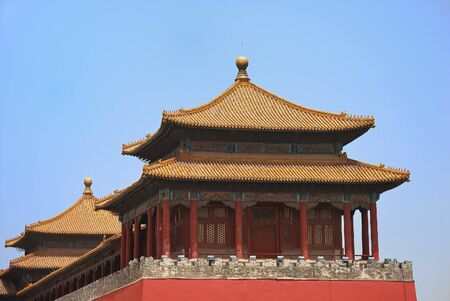 emperor: Emperor ancient temple in the Forbidden city
