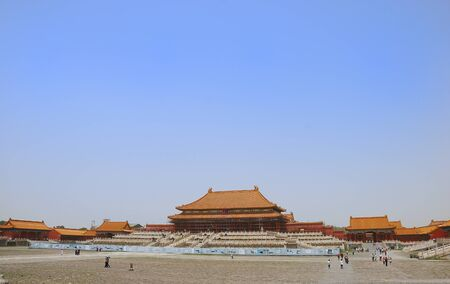 Forbidden City: ancient temple in the Forbidden city