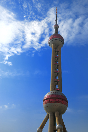 oriental pearl tower: Oriental Pearl tower in Shanghai