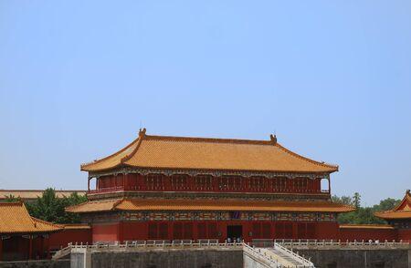 Forbidden City: Emperor ancient temple in the Forbidden city