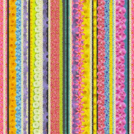 hi resolution: Raya perfecta retro dise�o patr�n de flores en vertical hi resoluci�n