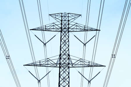 electric tower: electric tower
