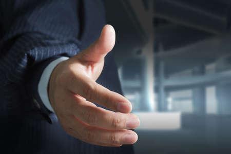 Business Hand shake photo