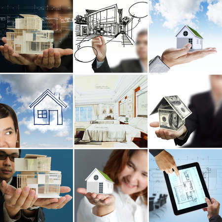 female architect: collection business of property and architecture