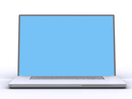 modern laptop Stock Photo - 11575419
