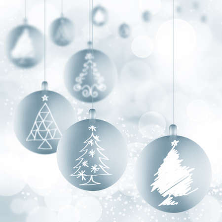 snow flake: Christmas background