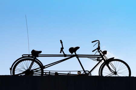 old times: Tiempos de vieja bicicleta