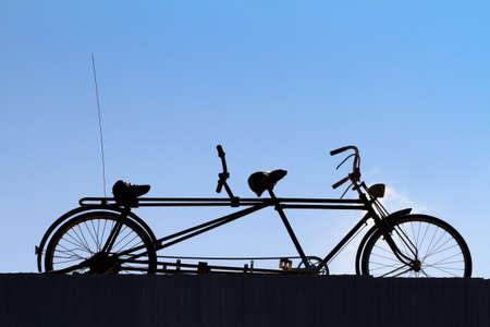 old times: Tiempos bicicleta vieja