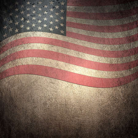 Grunge metal rusty america pattern independent day Stock Photo - 12042518