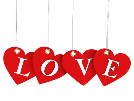 love tags  photo