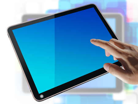 tablet pc Stock Photo - 12601828
