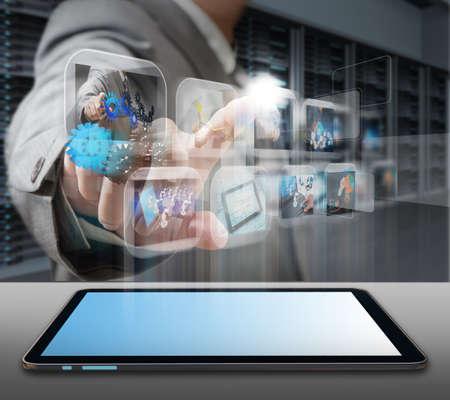 usługodawcy: inżynier dziaÅ'alnoÅ›ci czÅ'owieka w centrum serwerów sali danych