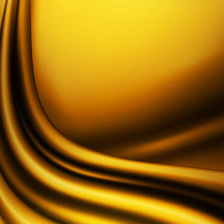 gold swirls: Abstract gold background