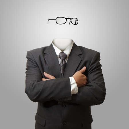 Onzichtbare man concept