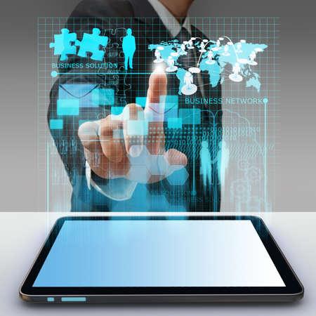 process diagram: attivit� a mano a punto l'uomo virtuale diagramma di processo della rete aziendale