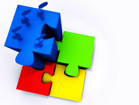 success puzzles photo