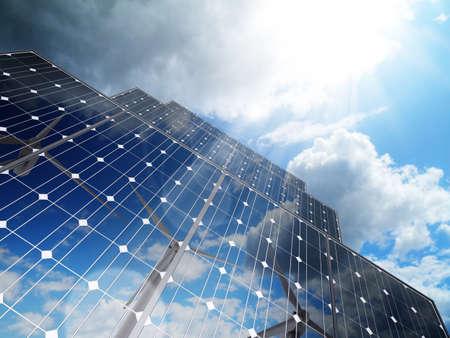 regenerative energie: Erneuerbarer, alternativer Solarenergie, Green Business Lizenzfreie Bilder