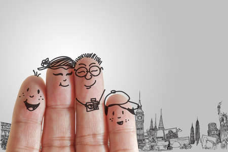finger family travels photo