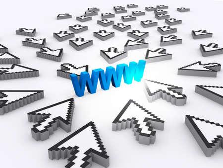 internet world wide web concept photo