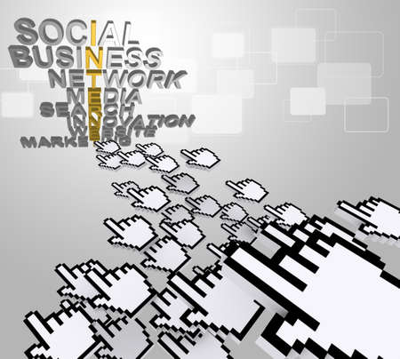 traffic and internet network concept Stock Photo - 14161710