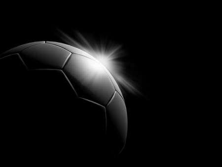 lowkey: a classic black white soccer ball