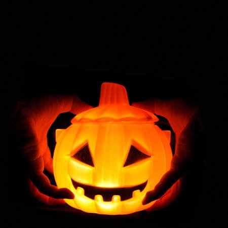 halloween pumpkin on theme background Stock Photo - 16080907