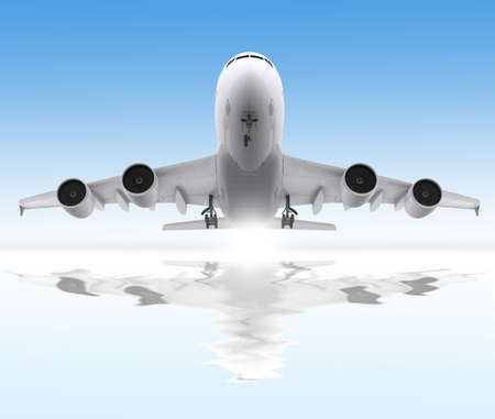Aircraft take off photo