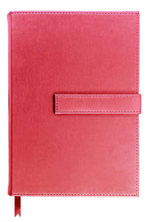 notebook isolated on white photo