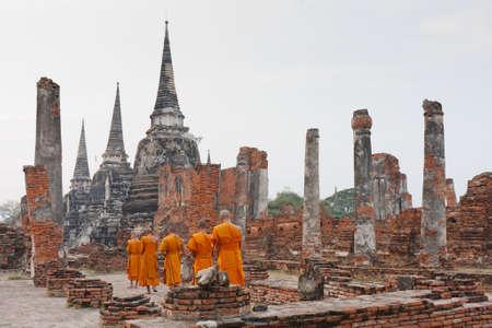 a group of young Buddhist monks Reklamní fotografie
