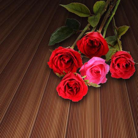 many red roses Reklamní fotografie - 16424584