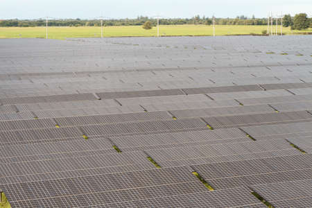 solarcell: Industrial photovoltaic installation