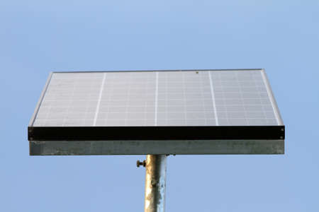 Industrial photovoltaic installation photo