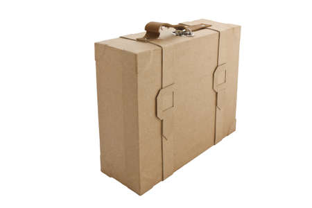 corrugated box: Corrugated box recycle Stock Photo