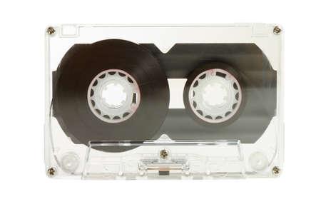 Clear transparent compact cassette