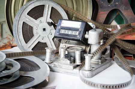 16mm: group of cinematography equipment with accessories