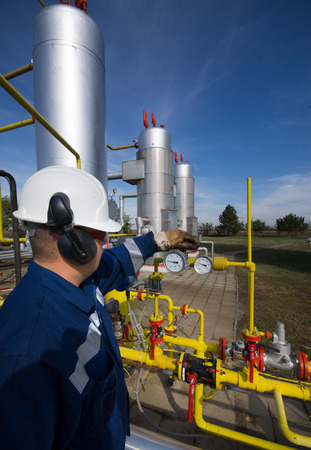 environmental safety: Operator in natural gas industry